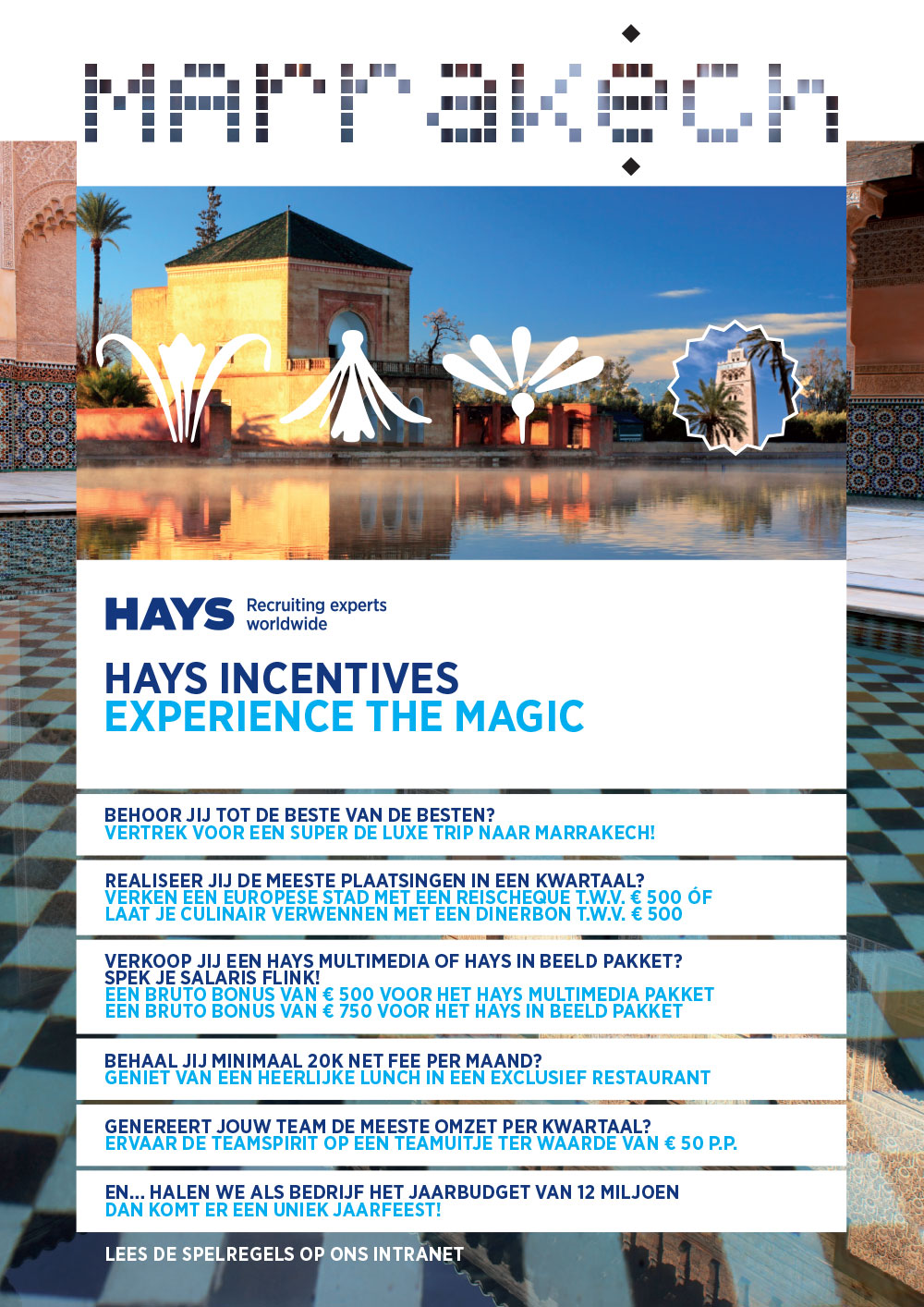 Affiche Hays Incentive