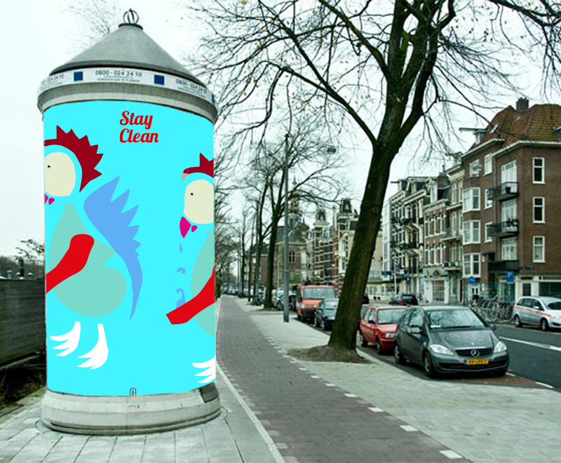 voorstel campagne stay clean