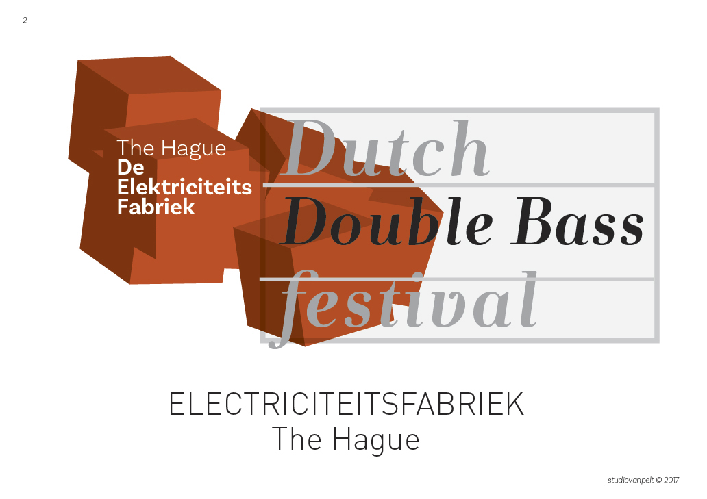 dutch double bass festival logo elektriciteitsfabriek